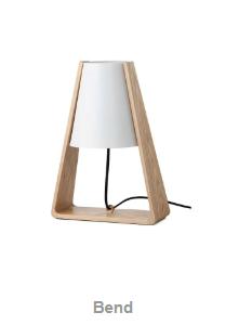 Bend מנורת שולחן